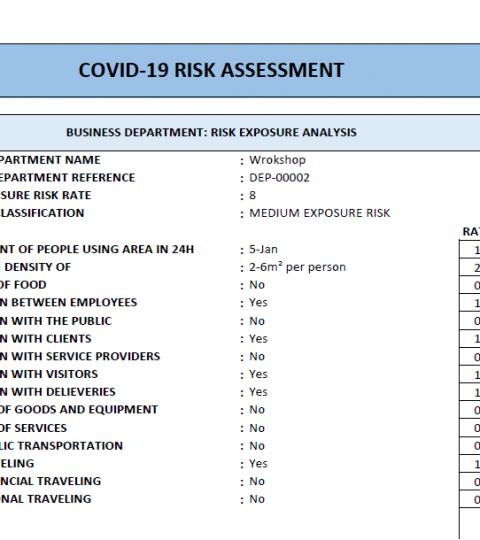 Covid 19 Rating Pdf
