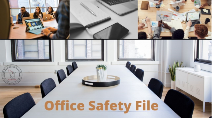 Office safety file ad